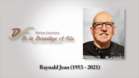 Raynald Jean (1953 - 2021)