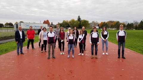 L'École secondaire Louis-Jacques-Casault inaugure sa nouvelle piste d'athlétisme