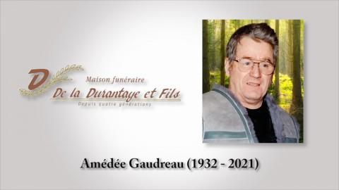 Amédée Gaudreau (1932 - 2021)