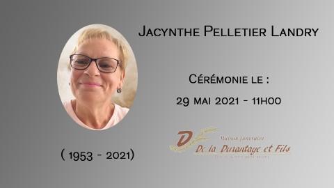 Jacynthe Pelletier Landry