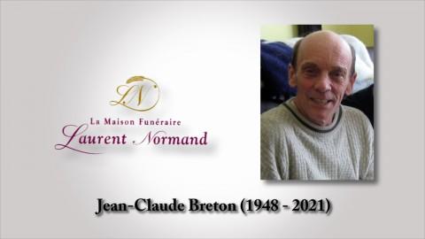 Jean-Claude Breton (1948 - 2021)