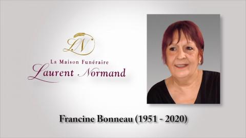 Francine Bonneau (1951 - 2020)