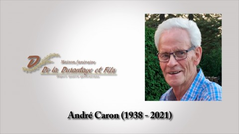 André Caron (1938 - 2021)