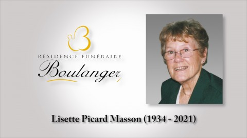 Lisette Picard Masson (1934 - 2021)