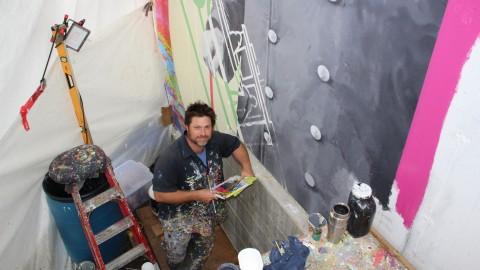 Legs artistique des Fêtes du 375e : la touche finale à la murale Avantis sera apportée en 2022