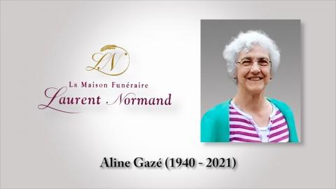 Aline Gazé (1940 - 2021)