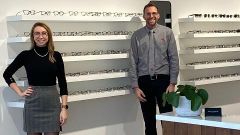Nouveau partenariat entre la clinique d'optométrie Skyvision et le magasin Coop IGA extra de Montmagny