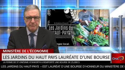 Bonjour Côte-du-Sud - Vendredi 5 mars 2021