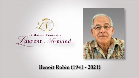 Benoît Robin (1941 - 2021)