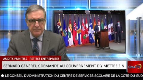 Bonjour Côte-du-Sud - Mardi 24 novembre 2020