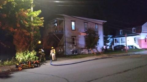 Un blessé dans un début d'incendie à Montmagny