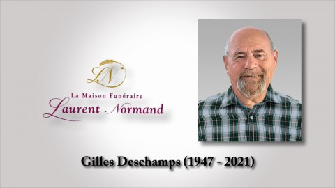 Gilles Deschamps (1947 - 2021)