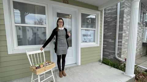 Élisabeth Beaulieu Lamoureux ouvre une savonnerie à Montmagny