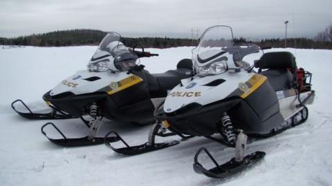 La SQ a vérifié près de 700 motoneiges en Chaudière-Appalaches