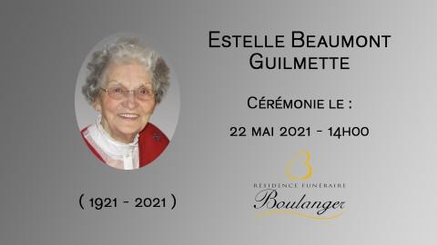 Estelle Beaumont Guilmette