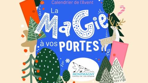 La Ville de Montmagny propose un calendrier de l'avent virtuel