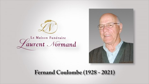 Fernand Coulombe (1928 - 2021)