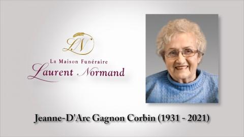 Jeanne-D'Arc Gagnon Corbin (1931 - 2021)