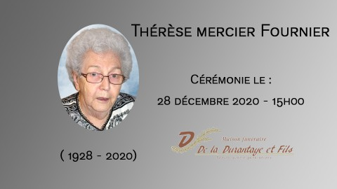 Thérèse mercier Fournier