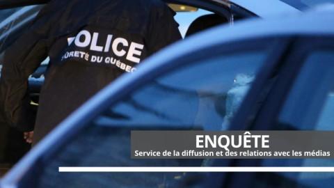 Opération visant un réseau de trafic de stupéfiants à Lévis