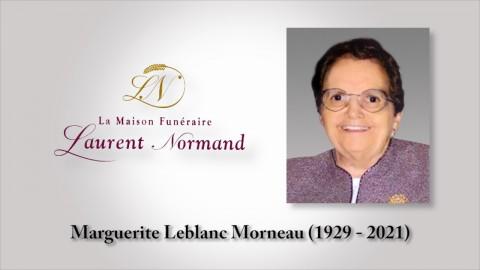 Marguerite Leblanc Morneau (1929 - 2021)