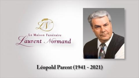 Léopold Parent (1941 - 2021)