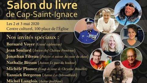 La troisième édition du Salon du livre de Cap-Saint-Ignace est annulée