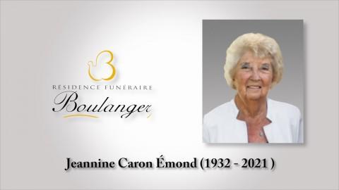 Jeannine Caron Émond (1932 -  2021)
