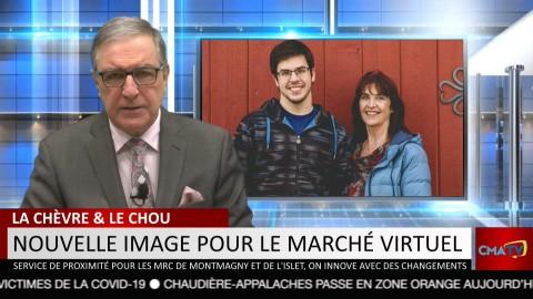 Bonjour Côte-du-Sud - Lundi 8 mars 2021