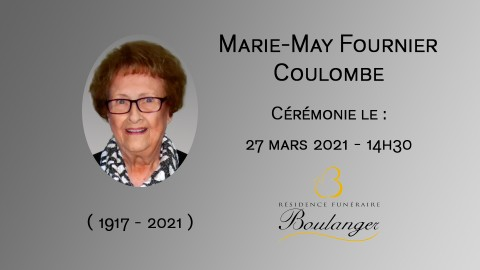Marie-May Fournier Coulombe
