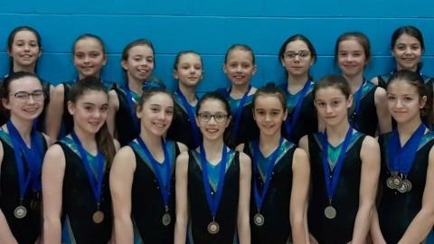 42 médailles remportées par des gymnastes de Magny-Gym!
