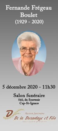 Fernande Frégeau Boulet