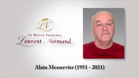 Alain Messervier (1951 - 2021)