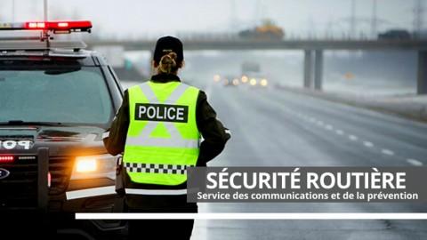 Long congé de l'Action de grâce, la SQ appelle à la prudence sur les routes