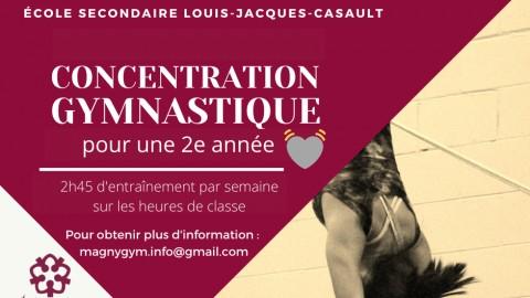 Concentration sportive en gymnastique à Montmagny : Magny-Gym et Louis-Jacques-Casault poursuivent leur fructueuse association