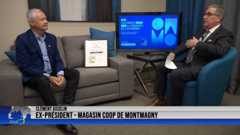 Entrevue - Clément Asselin, récipiendaire du 4e degré de l'ordre du mérite coopératif et mutualiste - 18 octobre 2021