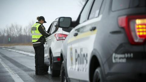 Un Magnymontois de 26 ans intercepté pour grand excès de vitesse à Saint-Cyrille-de-Lessard