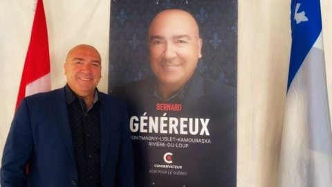 Élections fédérales : une victoire éclatante pour Bernard Généreux