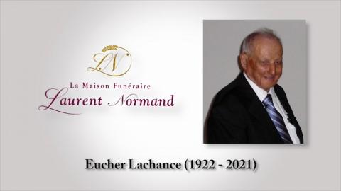 Eucher Lachance (1922 - 2020)