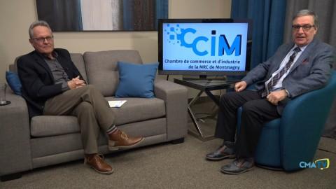 Entrevue - Jean-Guy Boulet, président de la Chambre de commerce et d'industrie de la MRC de Montmagny - 30 mars 2021