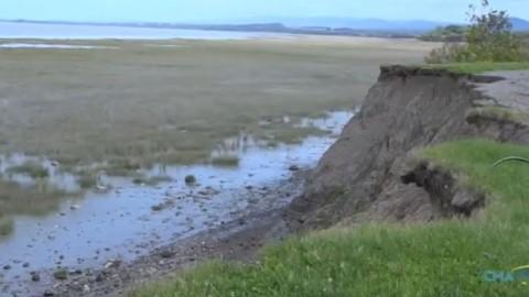 Le dossier de l'érosion des berges à Montmagny avance