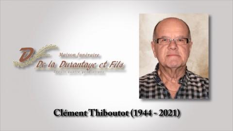 Clément Thiboutot (1944 - 2021)