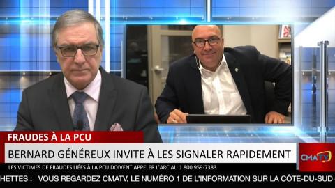 Bonjour Côte-du-Sud - Vendredi 22 janvier 2021