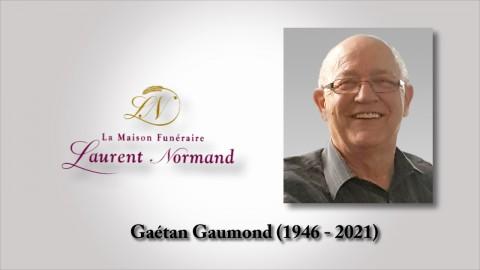 Gaétan Gaumond (1946 - 2021)