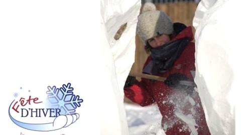 Sculpture sur neige : les artistes amateurs invités à la Fête d'hiver!
