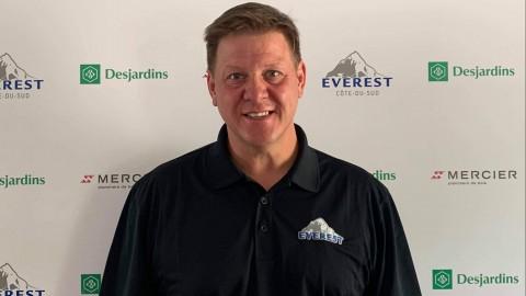 Steve Cantin devient le nouvel entraîneur-chef de L'Everest