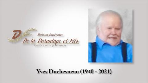 Yves Duchesneau (1940 - 2021)