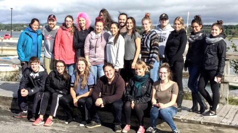 Des étudiants du Cégep de La Pocatière à la découverte de l'Île aux Basques