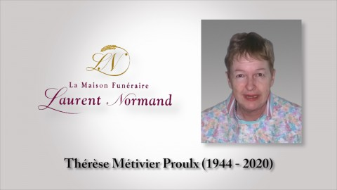 Thérèse Métivier Proulx (1944 - 2020)