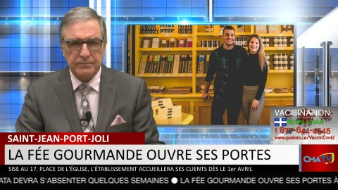 Bonjour Côte-du-Sud - Vendredi 26 mars 2021